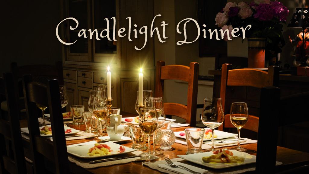 Candlelight Dinner am 8. März 2019